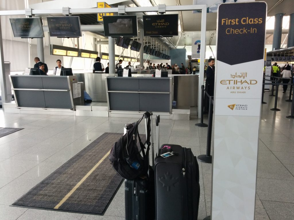Etihad lost my baggage
