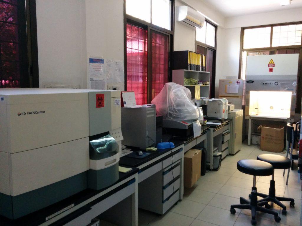 Mnazi Moja Hospital Lab