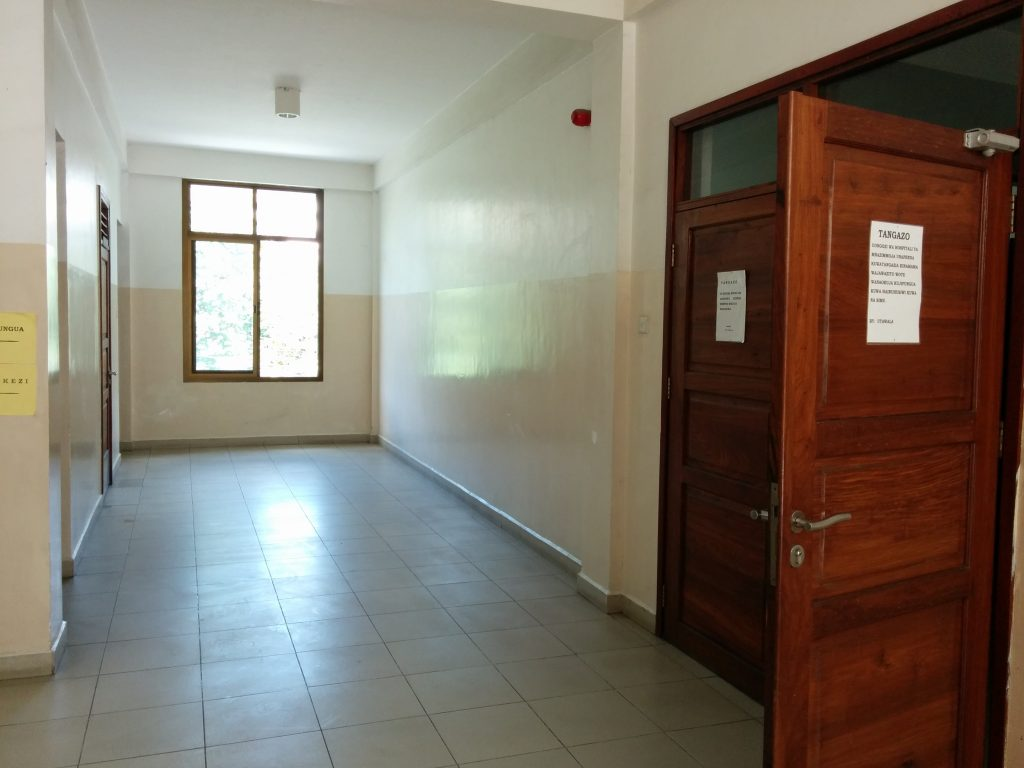 Mnazi Moja Hospital Maternity Ward Entrance