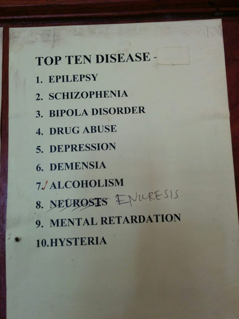 Psychiatric Top 10, Amana Regional Hospital