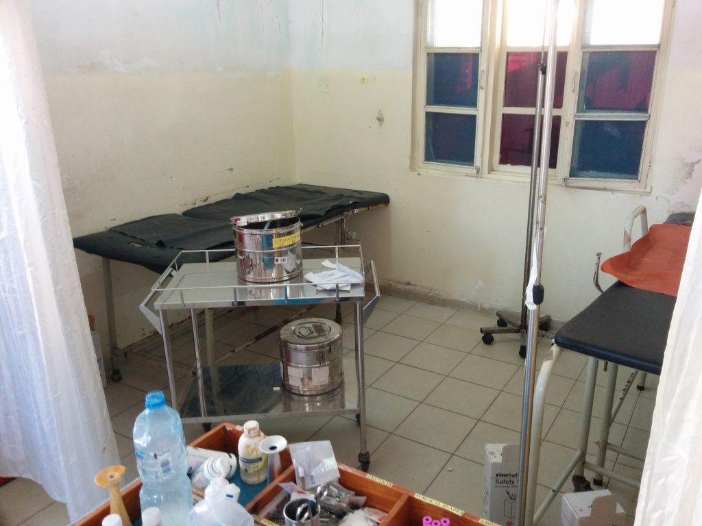 Delivery room, Amana Regional Hospital