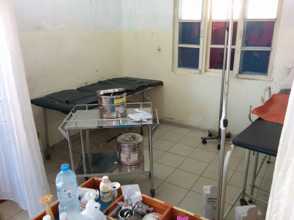 Delivery room, Amana Regional Hospital