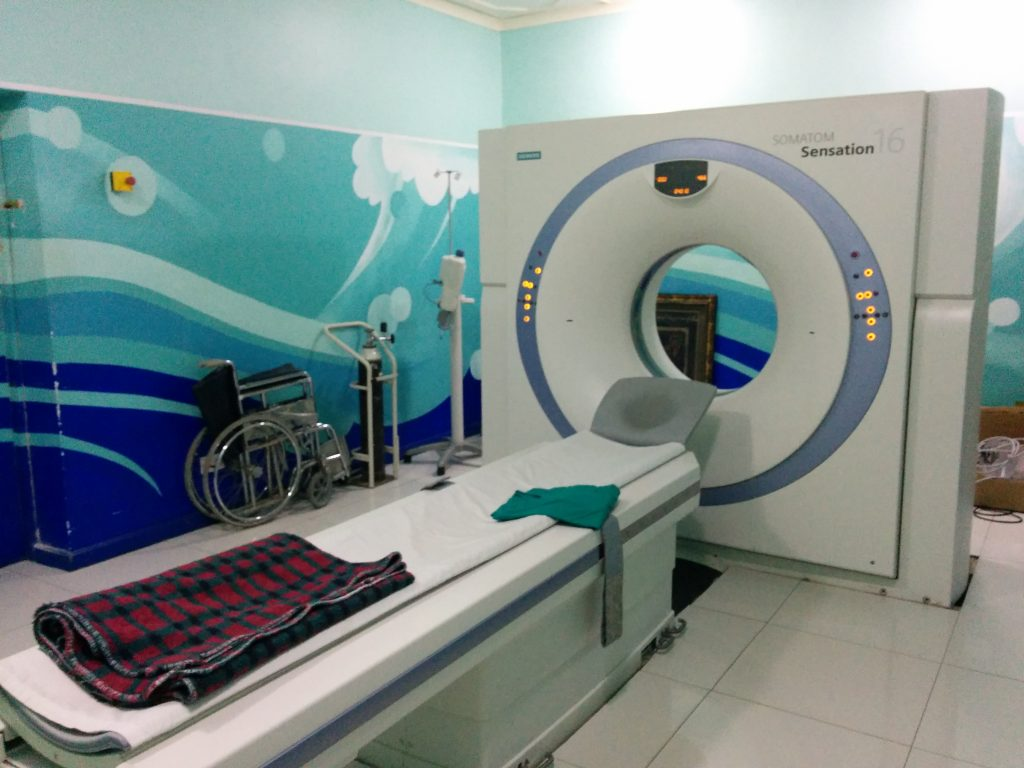 CT Scanner, TMJ Hospital, Dar Es Salaam