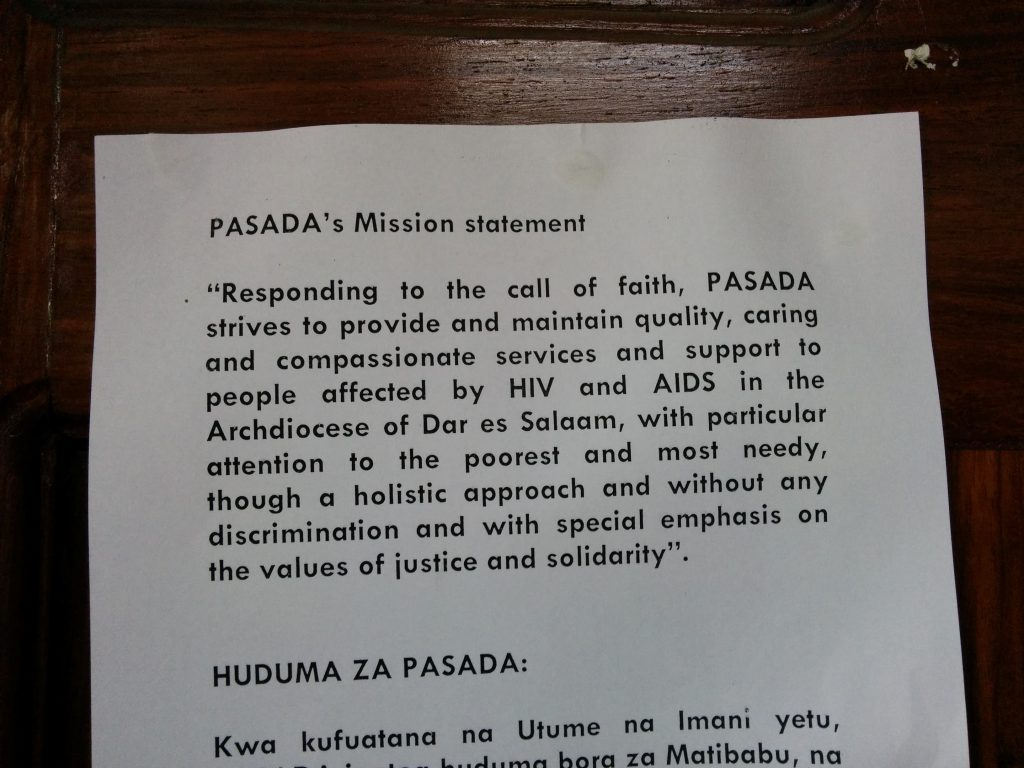 PASADA's Mission Statment