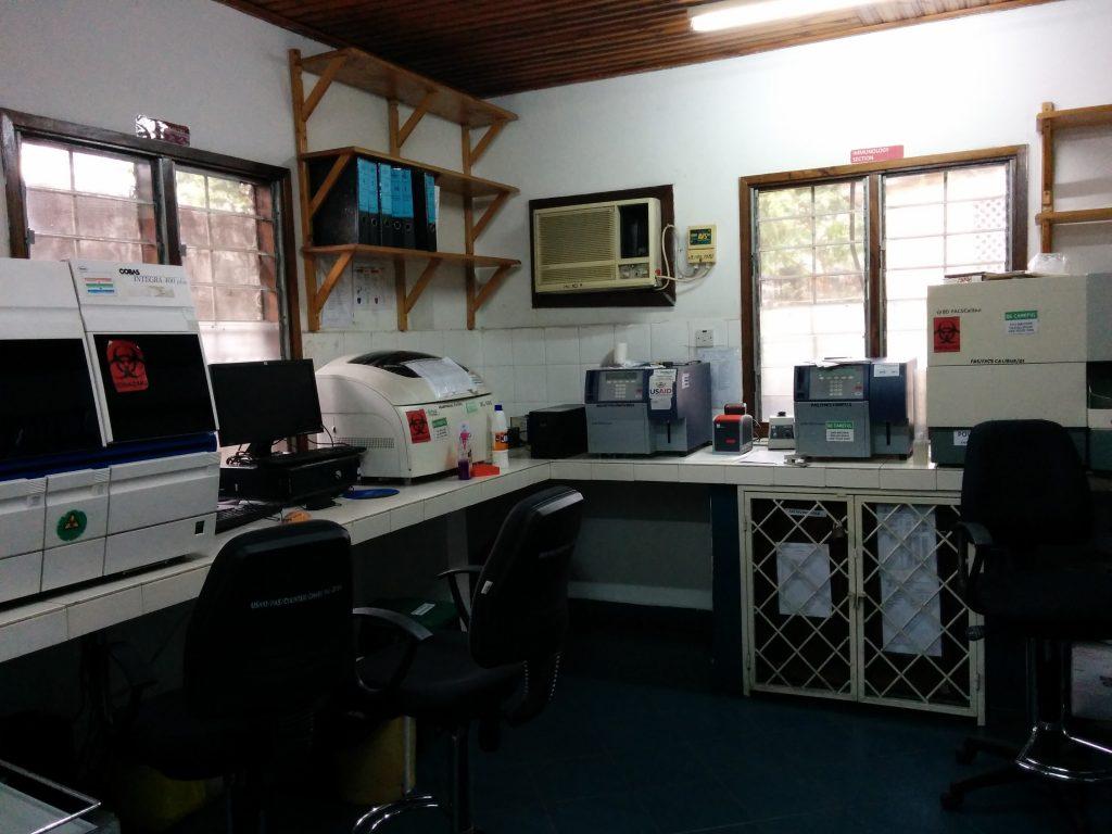 The laboratory at PASADA